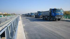Most Północny: asfalt już jest