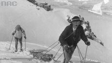 Akcja ratunkowa na Kasprowym Wierchu, 1943 (Narodowe Archiwum Cyfrowe)
