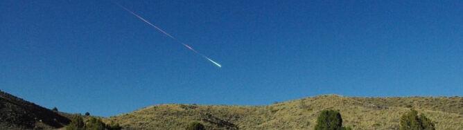 Meteor wielkości minivana spalił się nad Kalifornią