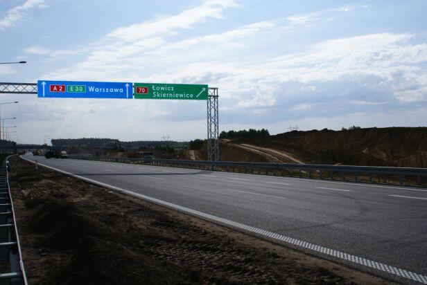 Odcinek B autostrady A2 Mostostal Warszawa