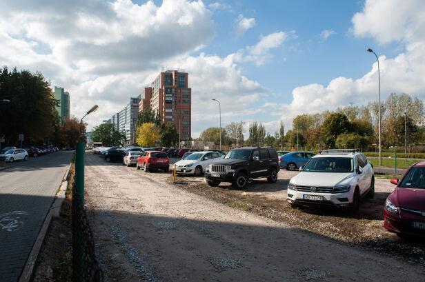 Przy Alejach Jerozolimskich ma powstać nowy parking Zarząd Dróg Miejskich
