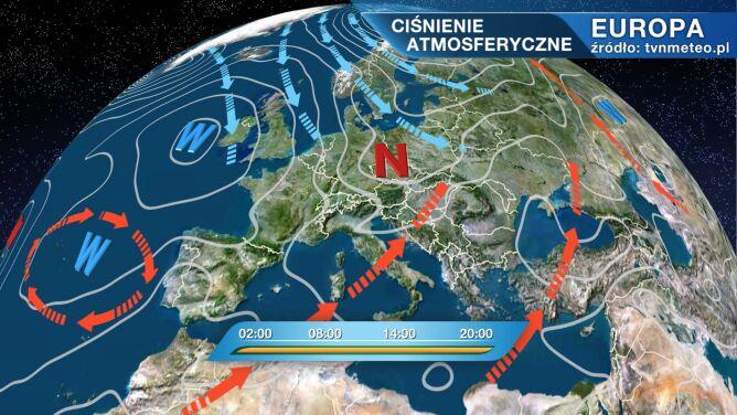 Polarne powietrze płynie do Polski