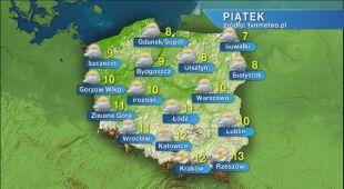 Prognoza pogody na piątek 03.04